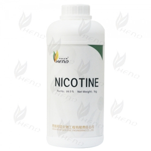 unflavored pure nicotine (USP/EP) clear liquid